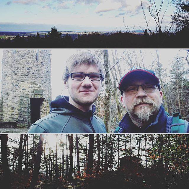 Mit dem Sohn zur Bloser Hütte