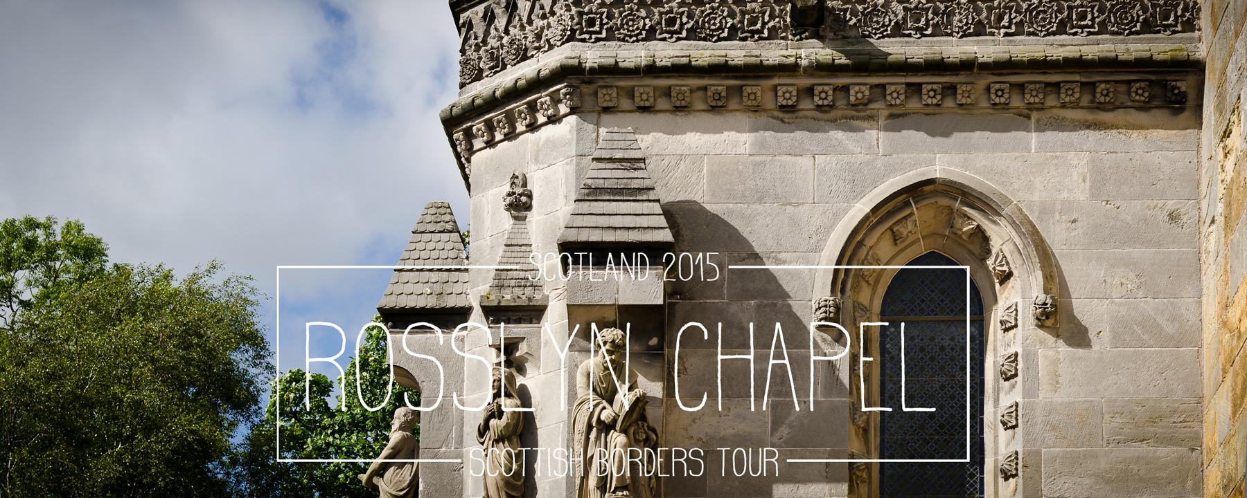 Von Edinburgh über Rosslyn nach Galashiels