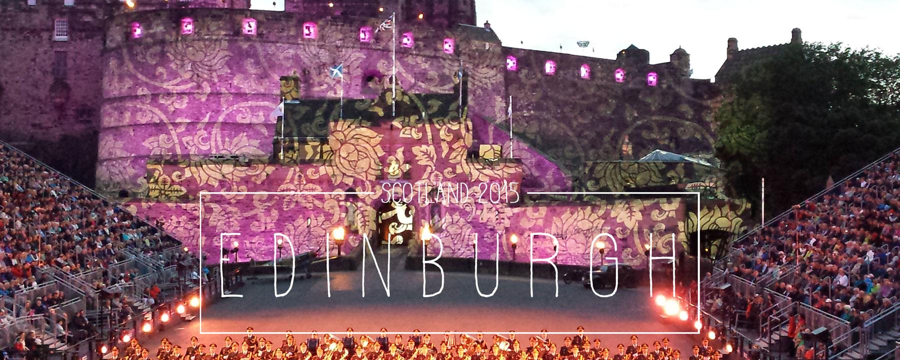 Edinburgh 2015 – die grüngraue Schönheit