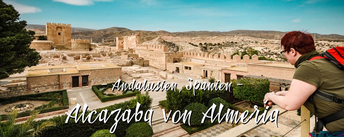Die Alcazaba von Almería