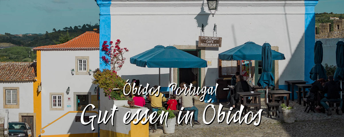 Gut essen in Óbidos