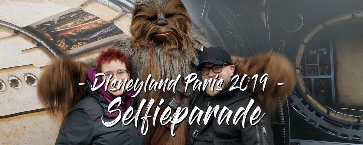 Selfieparade Disneyland 2019
